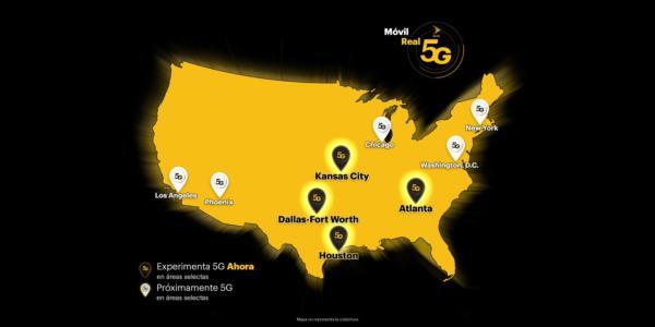 Sprint Activa La Verdadera Red Móvil 5G en Atlanta, Dallas-Fort Worth,  Houston y Kansas City