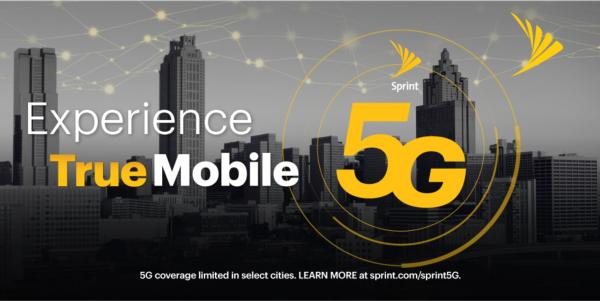 Sprint Lights Up True Mobile 5G in Atlanta