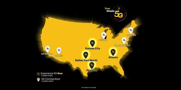Sprint Lights Up True Mobile 5G in Atlanta, Dallas-Fort Worth, Houston and Kansas City