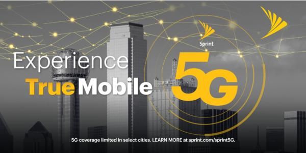 Sprint Lights Up True Mobile 5G in Dallas-Fort Worth