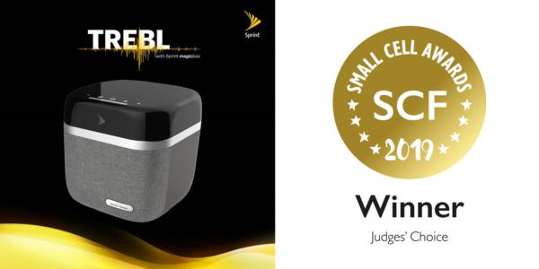 Sprint and HARMAN Win Small Cell Forum 2019 Judges Choice Award for Sprint TREBL with Magic Box